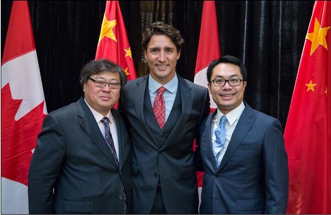 加拿大总理见证勤泽美业与BEE-CLEAN战略合作签约仪式